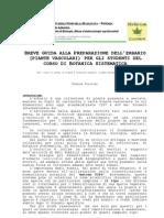 Breve guida alla preparazione dell'erbario (piante vascolari)