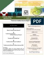 Cosmopolitan Healthline (APR) 2013 Issue