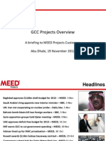 MEED GCC Projects Overview