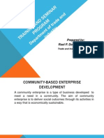 Training and Seminar Program