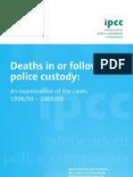 Deaths in Custody Report