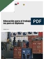 EducacionPara Trabajo-NO Xra Diploma Feb2013 DiarioGestion-Lima