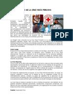 CALEN CIVIC DÍA DE LA CRUZ ROJA PERUANA
