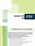 Planning Usable Open Space Guidelines