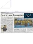 Dans la peau d'un eurodéputé