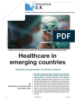 Healthcare in Emerging Countries
