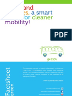 Buses and coaches for green  transport