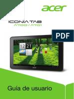 24 Guia de Usuario ICONIA TAB A700