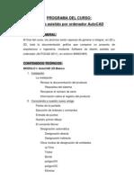 Programa de AutoCAD