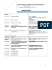 Capacity Development Workshop on Measuring Social Protection (Jakarta, 14−16 May 2013) - agenda