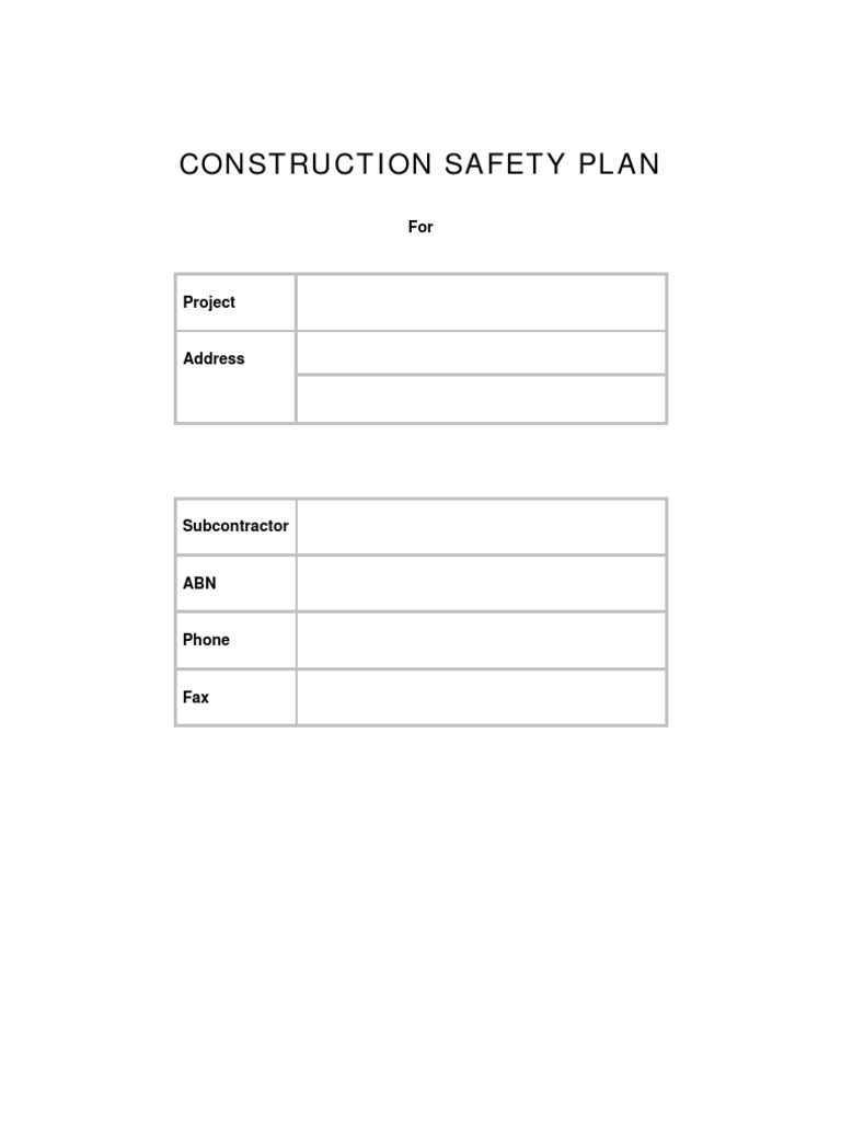 Magnificent Safety Protocol Template Gallery - Example Resume and ...