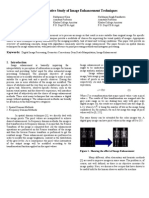 A Comparative Study of Image Enhancement Techniques