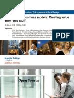 Open Source Business Models - Clarysse