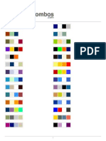Color Combinations - Color Schemes - Color Palettes