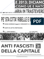 25 APRILE 2013 Roma ricarda i Partigiani