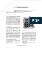 [Lectura FPGA Architecture] Architecture of Field-programmable Gate Arrays - Rose