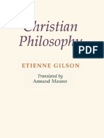 Etienne Gilson - Christian Philosophy