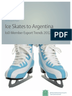 "IoD and APPG ""Ice Skates to Argentina"""