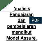 Analisis Jadual Assure Mt y1 Ruang