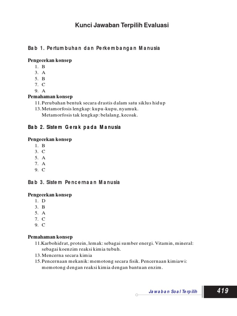 Kunci Jawaban Lks Ipa Kelas 7 Semester 2 Kurikulum 2013 Ilmusosial Id