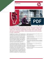 HP QuickTestPro Brochure 4AA1 2116ENW