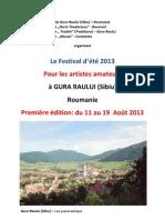 Francais Festival 2013