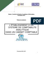 MEMOIRE gestion budgetaire dans un cabinet comptable.doc