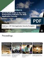 Magic Numbers - 5 KPIs for Measuring WebAppSec Program Success v3.2