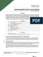 motor current rating