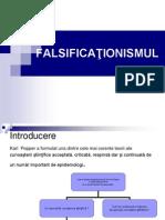 Falsificationismul  Curs 9