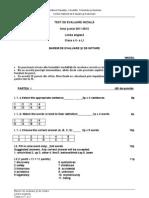Evaluare Initiala Lb Engleza Cls 10 L1 Bar