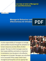 37577192 Managerial Behaviour and Effectiveness Ppt