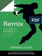 Lessig 08. Remix