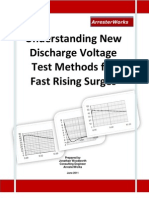 ArresterFacts 026 on Discharge Voltage for Fast Rising Surges