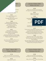 (ΕΝΘΕΤΟ) Αναλυτικό Πρόγραμμα Εκδηλώσεων 2013