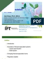 11 Nanoencapsulatio Khare IFT11