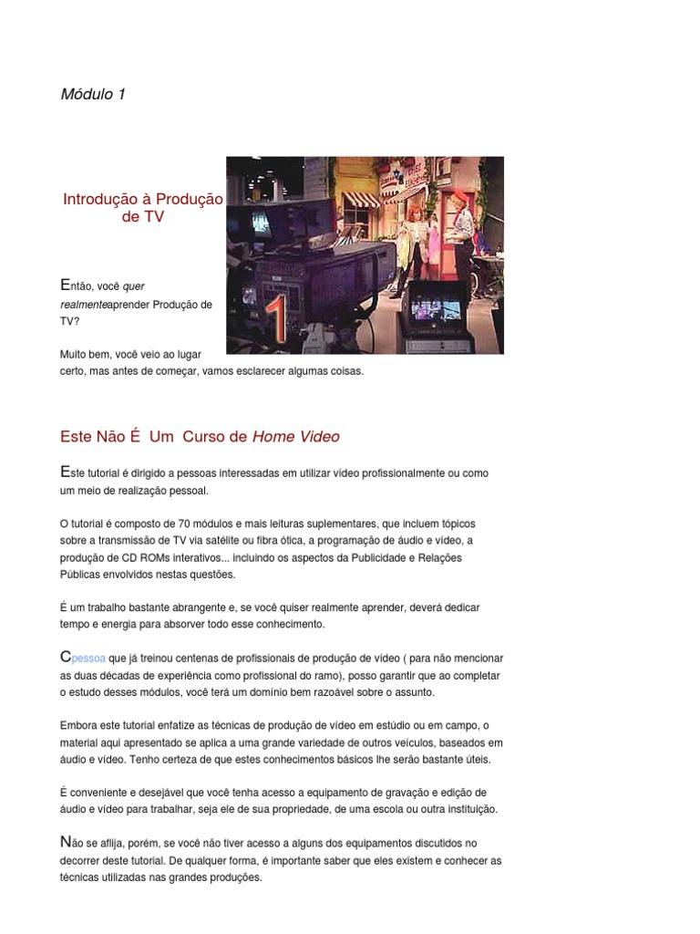 9b916deaa7d7c Cybercollege - Produção de Video