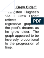Langston Hughes as i Grew Older