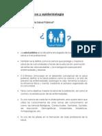 Trabajo N° 1 - Salud Pública y Epidemiologia