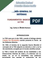 FUNDAMENTOS DE LA TEORIA GENERAL DE SISTEMAS
