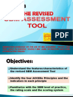 Ppt, Sbm Assessment Tool