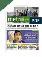Capriles en portada Diario METRO de París