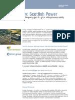 Case Study Scottish Power (Process Safety)