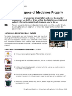 How to Dispose of Medicines Properly