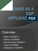 SONAR AS A DSP APPLICATION.pptx