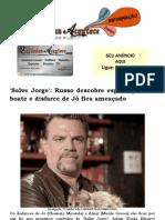 'Salve Jorge' Russo descobre espionagem na boate e disfarce de Jô fica ameaçado