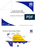 The Value Chain in Subsea