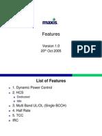 Ericsson Features