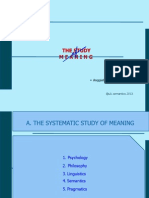 Chapter i (the Study of Meaning) - Copy
