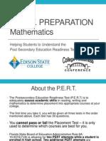 Edison CCSS Mathematics Presentation